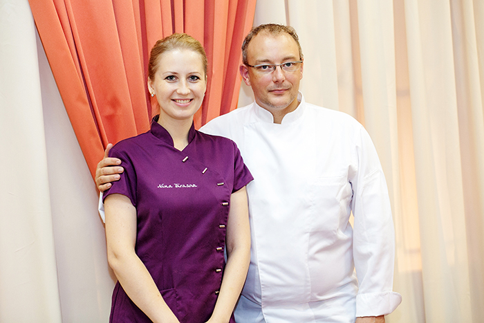 Nina Tarasova and Franck Geuffroy
