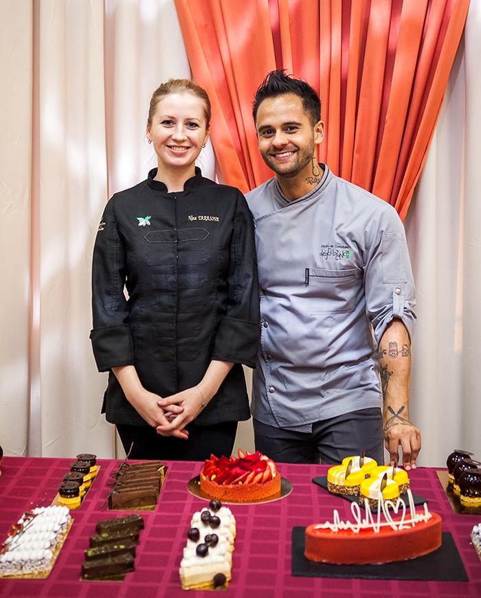 Diego Lozano and Nina Tarasova