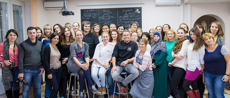 Master-class with Chef Bellouet Conseil Johan Martin