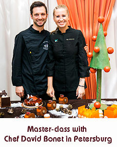 Master-class with Chef David Bonet