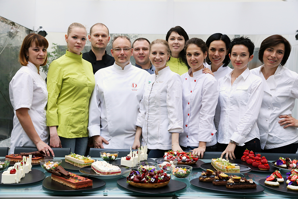 Master-class at school Alain Ducasse